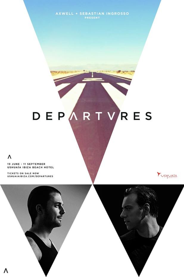 Sebastian Ingrosso, Axwell 'Departures' Ibiza residency