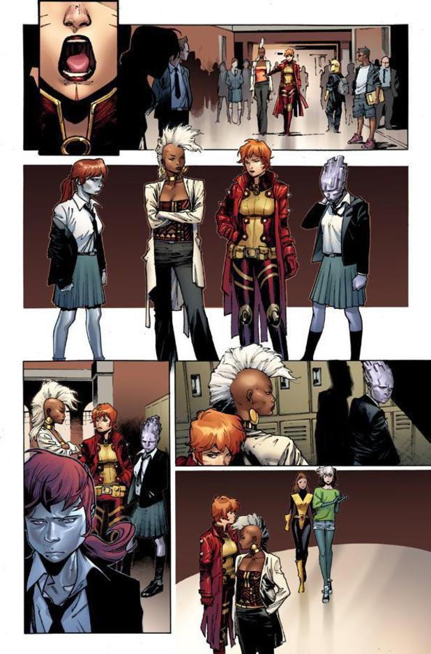 'X-Men' #1 preview artwork