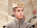 Bieber's face is Photoshopped on to Joffrey Baratheon in new meme.