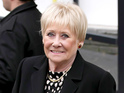 Dawn, who played Vera Duckworth in the soap, is rushed to hospital with chest pains.
