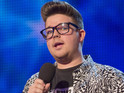 Alex Keirl also hits back at Simon Cowell's criticism of his singing.
