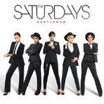The Saturdays 'Gentleman' single artwork.