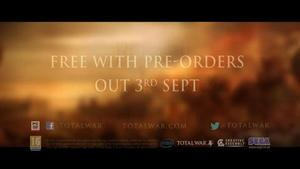 'Total War: Rome 2' pre-order DLC announcement trailer