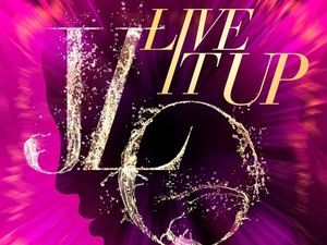Jennifer Lopez ft. Pitbull 'Live It Up' artwork