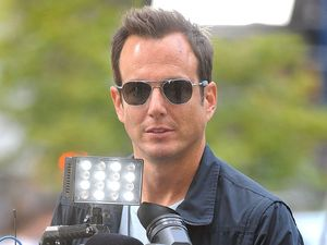 Will Arnett on the set of the &#39;Teenage Mutant Ninja Turtles&#39;, filming in New York - 07 May 2013