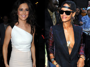 Cheryl Cole, Rihanna, celebrity girl crushes