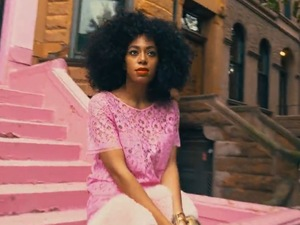 Solange in 'Locked In Closets' video clip