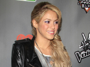 Shakira, The Voice, Season 4 red carpet, Los Angeles, pop star