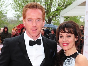 The 2013 Baftas - arrivals: Damian Lewis and wife Helen McCrory