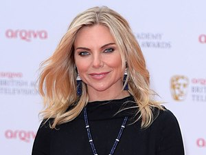 The 2013 Baftas - arrivals: Samantha Womack