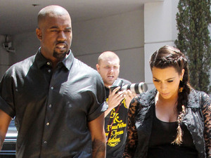 Kanye West and Kim Kardashian house-hunting in Los Angeles