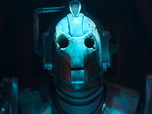 A Cyberman in Doctor Who S07E07: 'Nightmare in Silver'