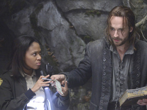 &#39;Sleepy Hollow&#39;: Nicole Beharie and Tom Mison