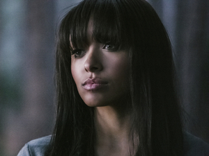 Kat Graham as Bonnie in The Vampire Diaries S04E22: &#39;The Walking Dead&#39;