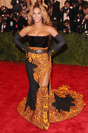 Beyoncé, Givenchy, Punk: Chaos To Couture exhibition, Metropolitan Museum of Art, New York