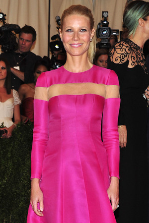 "Gwyneth Paltrow attends The Metropolitan Museum of Art's Costume Institute benefit celebrating ""PUNK: Chaos to Couture"" on Monday May 6, 2013 in New York."