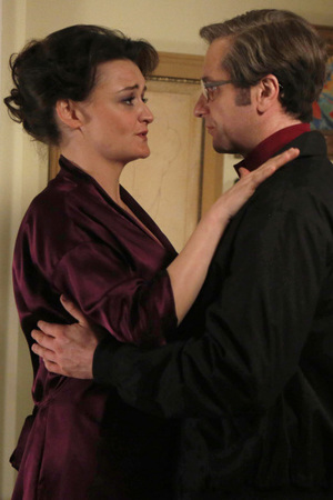 Alison Wright as Martha Hanson and Matthew Rhys as Philip Jennings in 'The Americans'