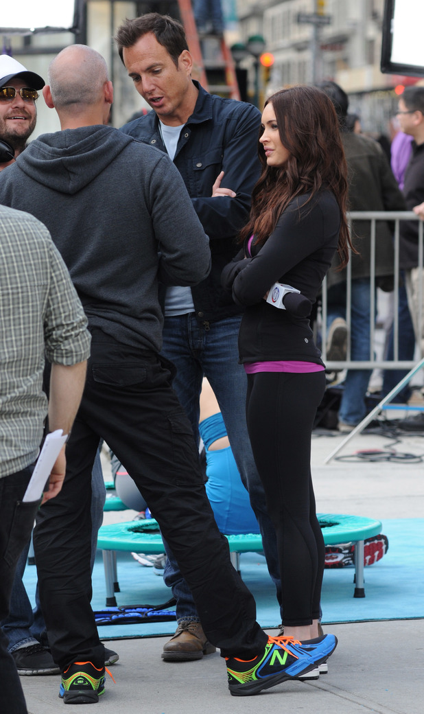 Will Arnett and Megan Fox