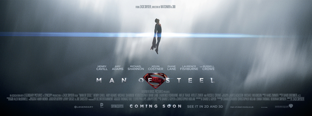 'Man of Steel' poster