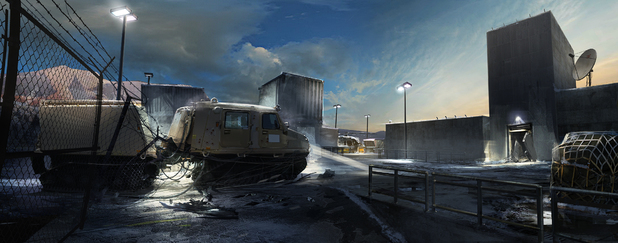 'Splinter Cell: Blacklist' concept art