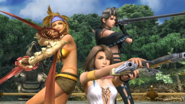 Final Fantasy X-2 screenshot