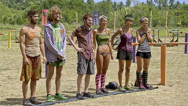 The remaining Survivors await their next challenge during episode 13 of 'Survivor: Caramoan'