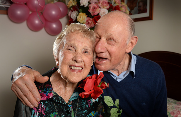 106-year-old woman finds love with man aged 73