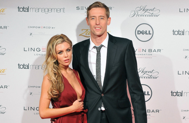 Abigail Clancy couple