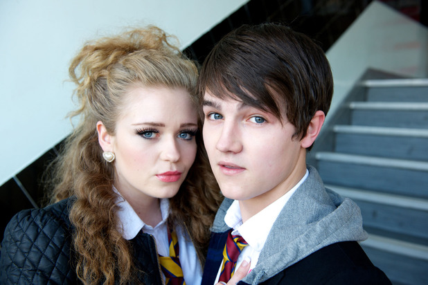 Abby Mavers and Tommy Lawrence Knight as Dynasty Barry and Kevin Chalk