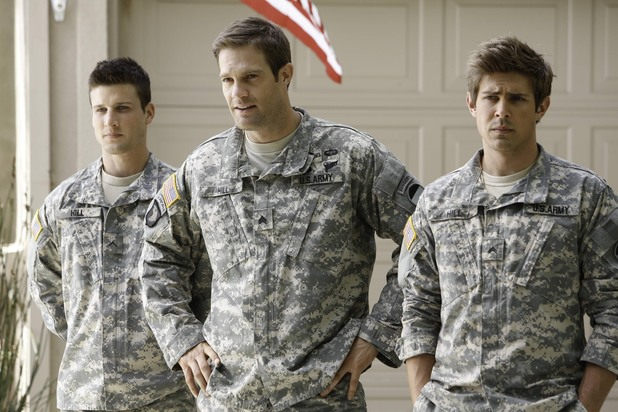 'Enlisted': Parker Young, Geoff Stults and Chris Lowell