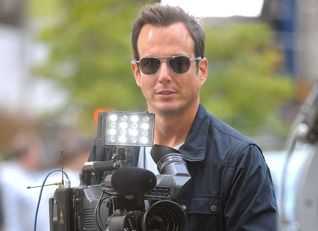 Will Arnett on the set of the 'Teenage Mutant Ninja Turtles', filming in New York - 07 May 2013