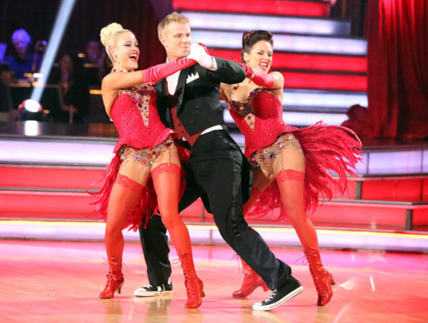 Week 8: Sean Lowe & Peta Murgatroyd - dancing with Sharna Burgess