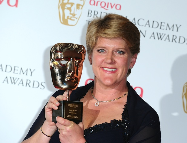 The 2013 Baftas winners: Clare Balding - Outstanding Achievement in Factual Presenting