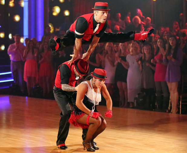 Week 8: Aly Raisman & Mark Ballas - dancing with Henry Byalikov