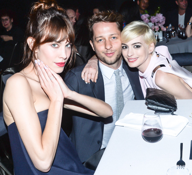 Adam Schulman, Tate Americas Foundation artists dinner and after party, New York, blonde hair, sleek style, celebrity couple, Derek Blasberg, Alexa Chung