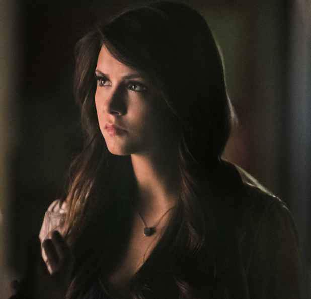 Nina Dobrev as Katherine in The Vampire Diaries S04E22: 'The Walking Dead'