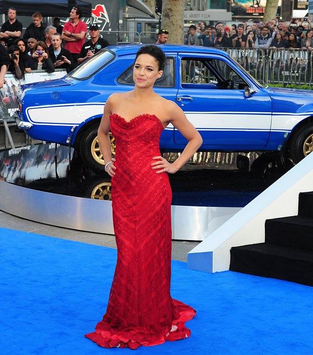 Fast & Furious 6 - UK premiere: Michelle Rodriguez