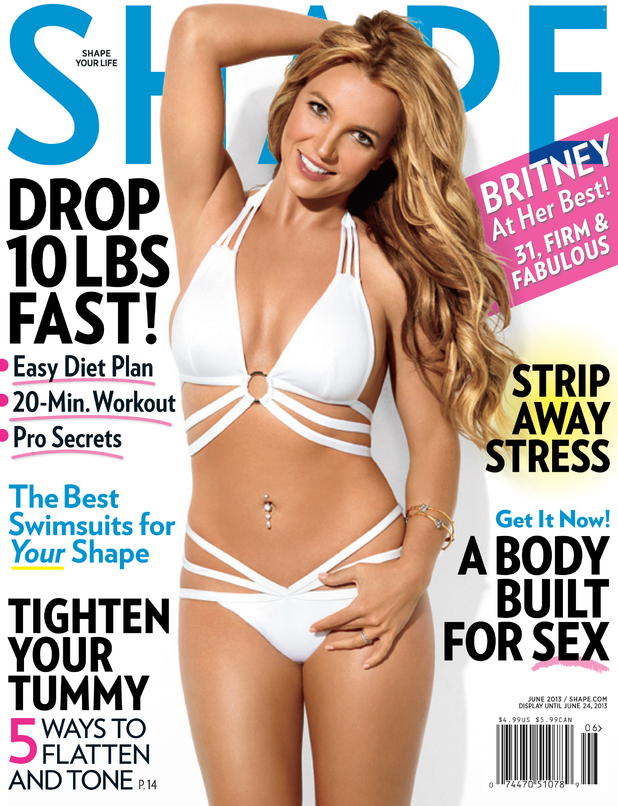 Britney Spears in 'Shape' Magazine