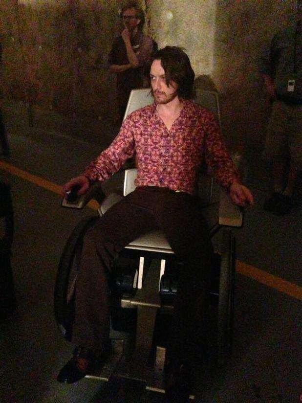 Teaser photo of James McAvoy in 'X-Men: Days of Future Past'