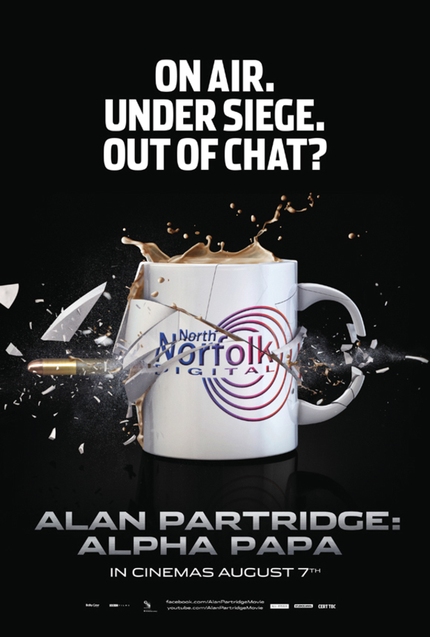 Alan Partridge Alpha Papa teaser poster