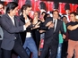 Stars support  Dharmendra at YPD2 event
