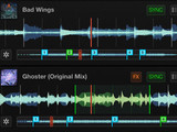 A screenshot of raktor DJ for iPhone