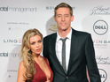 "Abbey Clancy says she's ""super excited"" as she announces the news on Twitter."