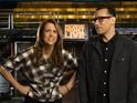 The Bridesmaids star previews first hosting stint with Fred Armisen.