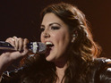 Kree Harrison says outgoing American Idol judge is supportive.
