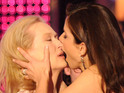 Sienna & Cara, Madonna & Britney and more famous female celebrity kisses.