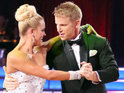 "Sean Lowe describes his professional partner Peta Murgatroyd as ""incredible""."