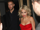 Rita Ora &amp; Calvin Harris, Kim Kardashian, Justin Bieber in today's pictures.