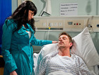 Chas and Gennie rush to Cameron's bedside