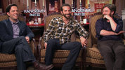The Wolfpack on 'The Hangover Part III' Bradley Cooper, Ed Helms Zach Galifianakis interview